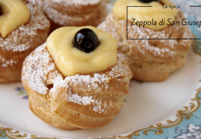 I dolci della tradizione: la Zeppola di San Giuseppe
